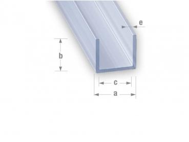 antstore ameisenshop ameisen kaufen profil u pvc transparent 12x10mm 1m. Black Bedroom Furniture Sets. Home Design Ideas